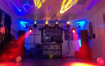 Sound & Lighting hire for a DJ event