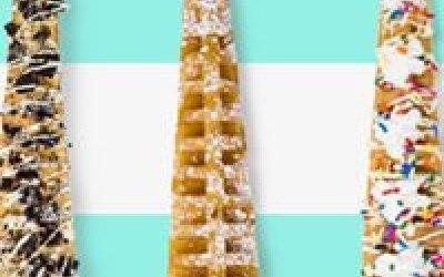 Ymmy Waffles on a stick