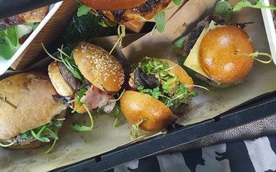 Maybe a slider stand supplying hundreds of fun sized mini burgers, to really up the enjoyment factor.