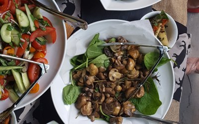 With such a great selection amazing salads to choose from clients can have a tough choice selecting