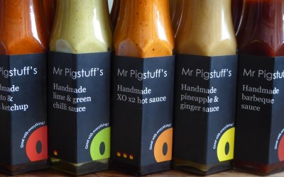 Our handmade sauces under pin our entire operation, their inventive flavours enhance all foods.