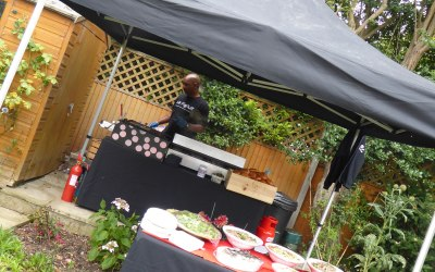 Multiple all weather marquis mean we can serve our great food in any weather, anywhere.