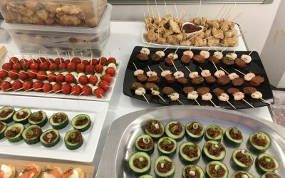 Some of our delicious canapes!