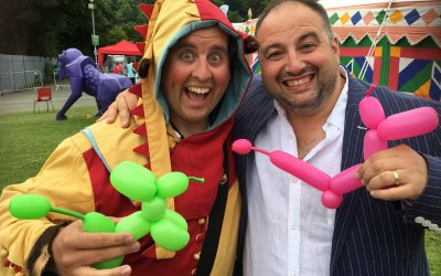The Conwy Jester with Wynn Evans Go Compare Man