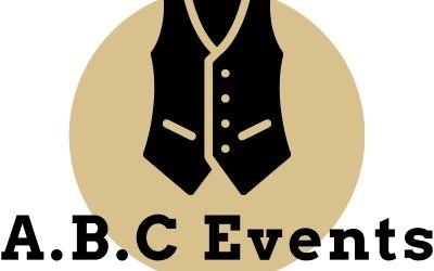 A.B.C Events Logo