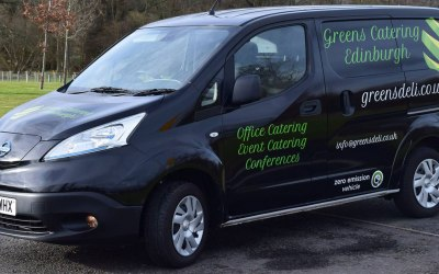 Our electric delivery vehicle!