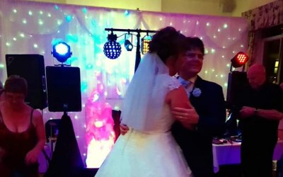 Wedding disco, Old Hall Hotel, Buxton, Derbyshire