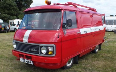 The Wee Red Van 2