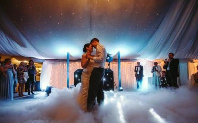First Dance with Dry Ice