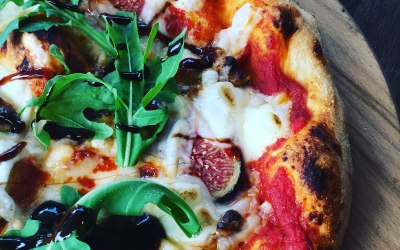 One of our vegan pizzas