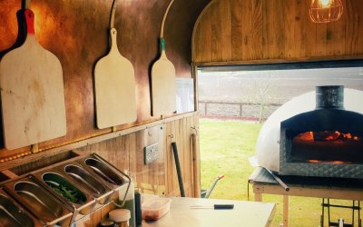 Inside our horsebox