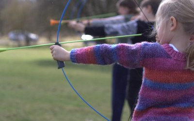 'Soft' archery with Arrows equipment produced by GB Archery.  Standard archery equipment also available.