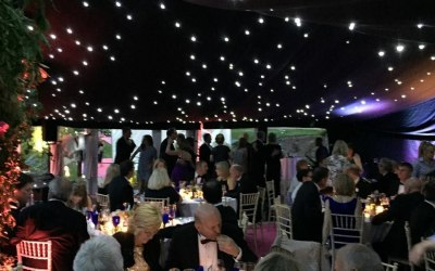 Marquee 50th. Birthday party