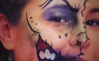 Carousel Face Painting 4