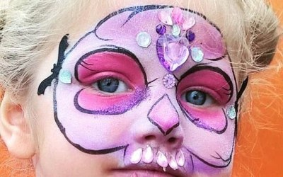 Carousel Face Painting 6