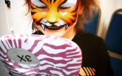 Carousel Face Painting 1