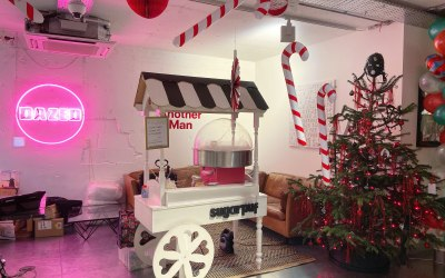 Candyfloss For Dazed Employees Christmas Party
