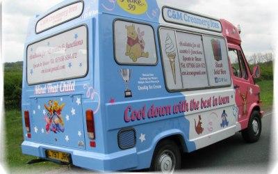 ice cream van harrogate and yorkshire