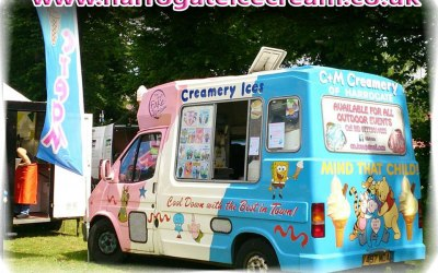 ice cream van for hire ripon, bedale, wetherby, skipton,