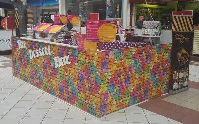 The Dessert Bar Shopping Centre Pop Up Kiosk