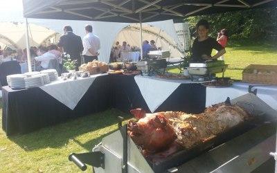 Hog Roast.Our Silver Menu In Yorkshire