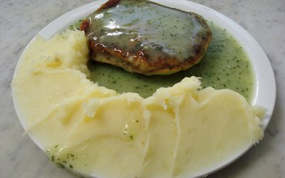 A good hearty Pie and Mash and special liquor