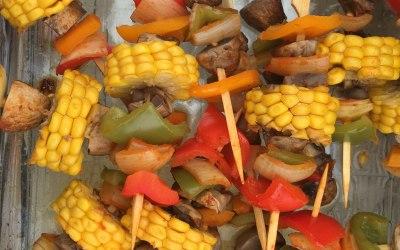 Suya Vegetarian Kebabs
