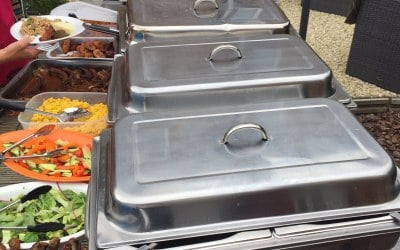 How we serve!!! - Chafing dishes