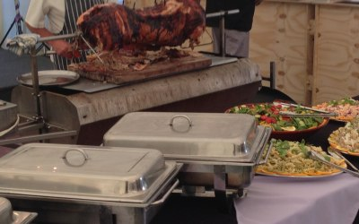 Hog Roast Wedding