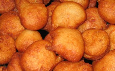 Akara - fried bean balls