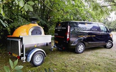 Van and oven