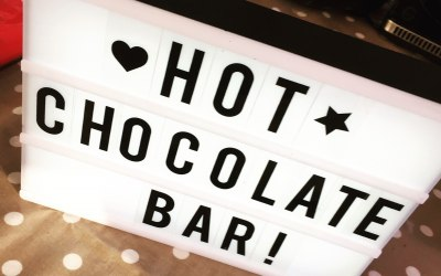 Hot Chocolate Bar on Request
