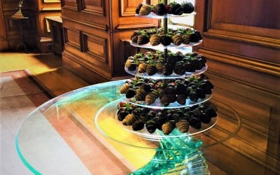 7 Tier Strawberry Tower - Perfect for a drinks reception