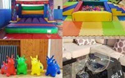 Soft play toys &bubble machine