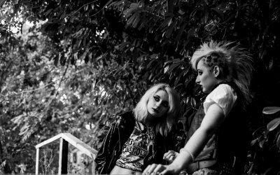 This was a punk themed shoot that I did for my friend Eden, I think they styled it out so well!