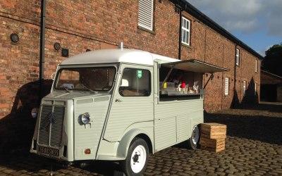 Vintage Citroen HY Food Truck
