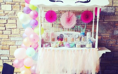 The Enchanted Candy Cart  1