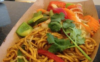 Veg n Soya Sauce with Noodles