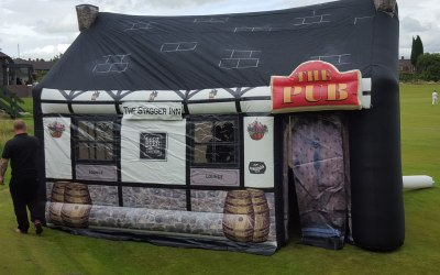 The Stagger Inn - Inflatable Pub Hire Chester