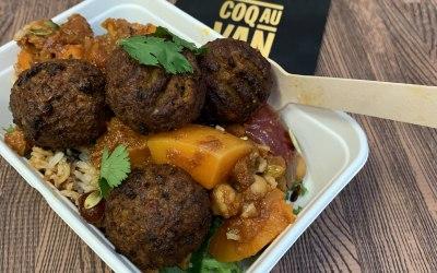 Vegan Falafel, Squash tagine
