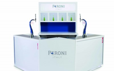 The Peroni Bar Set Up