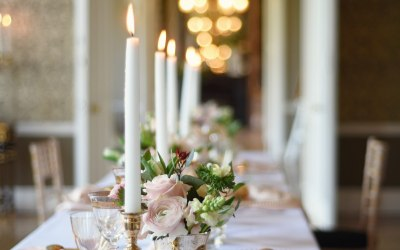 Romantic Luxury Tablescape