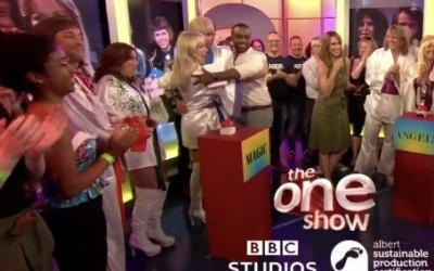 ABBAMAGIC on the One Show BBC1