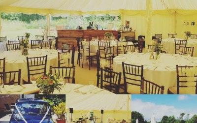 Tipi Mobile Wedding Bar