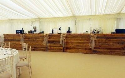 Marquee Mobile Wedding Bar