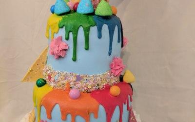 Large Drip Cake