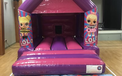 LOL bouncy castle