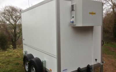 Large Humbaur Refrigerated Trailers