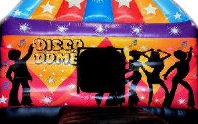 Deluxe Disco Dome Bouncy Castle
