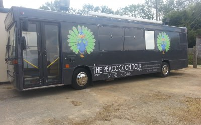 The Peacock on Tour 1